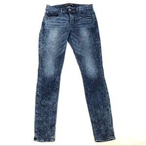 Express hi rise jeggings skinny jeans